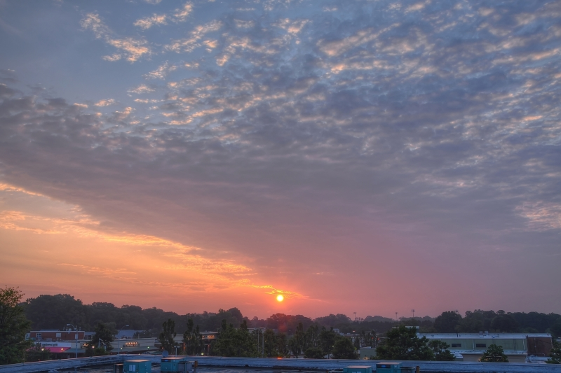 Raleigh Sunrise 20110705