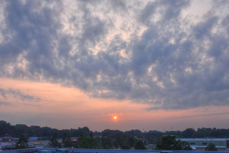 Raleigh Sunrise 20110711