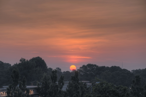 Raleigh Sunrise 20110713