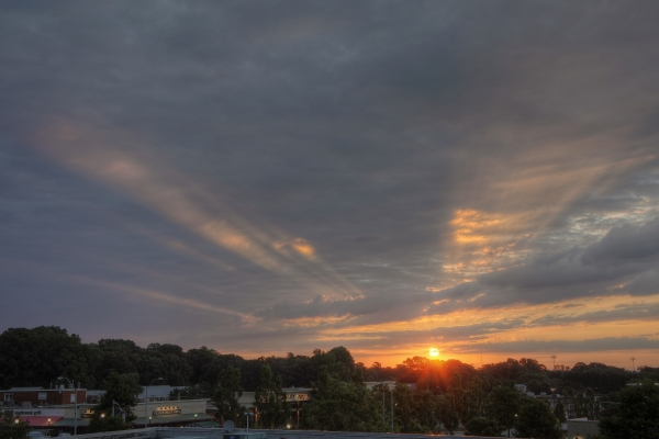 Raleigh Sunrise 20110717