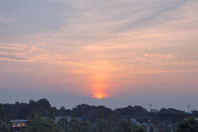Raleigh Sunrise 20110719