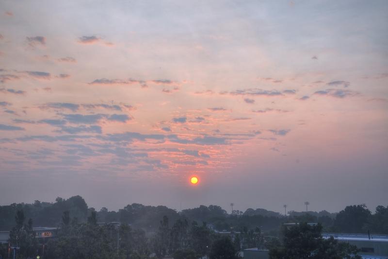 Raleigh Sunrise 20110727