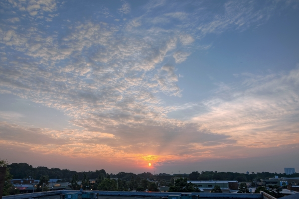 Raleigh Sunrise 20110803
