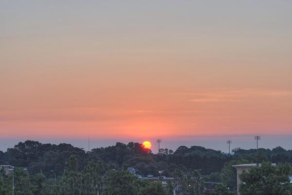 Raleigh Sunrise 20110809
