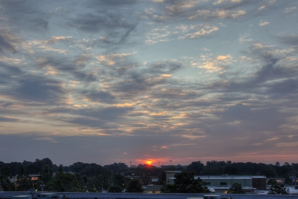 Raleigh Sunrise 20110818