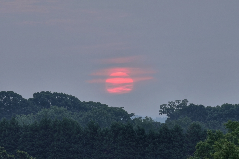 Raleigh Sunrise 20110821