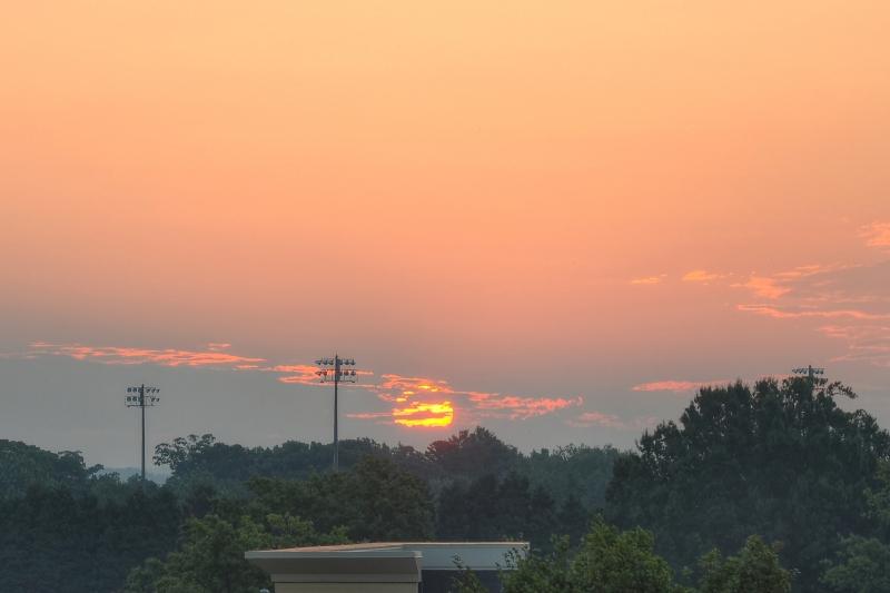Raleigh Sunrise 20110828