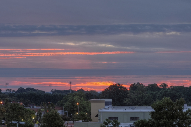 Raleigh Sunrise 20110908