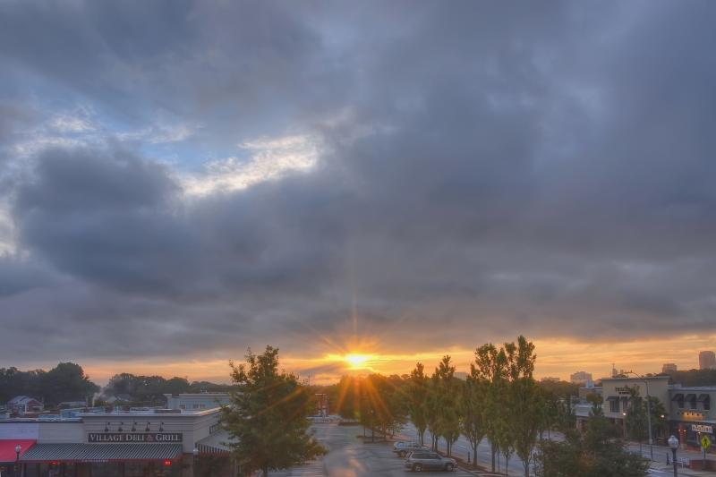 Raleigh Sunrise 20110926