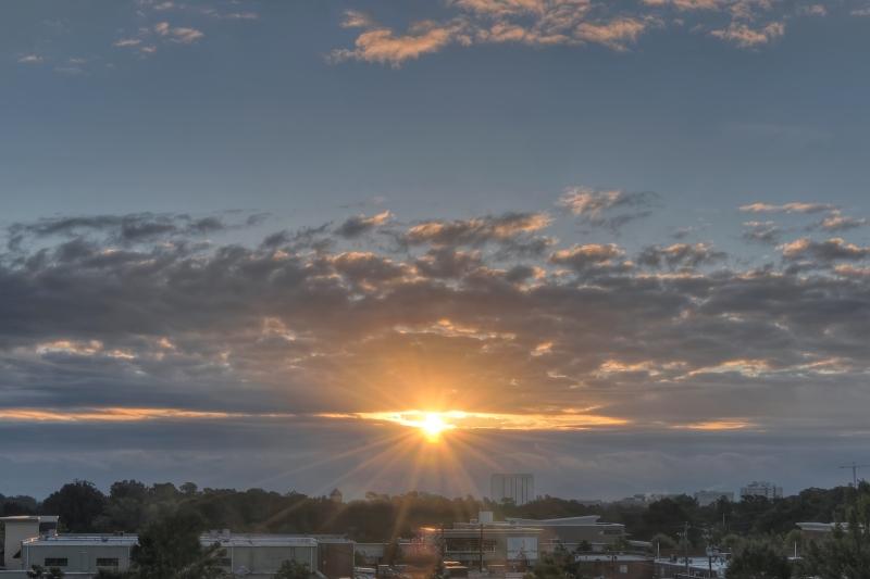 Raleigh Sunrise 20101003