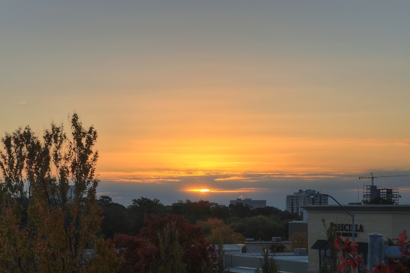 Raleigh Sunrise 20111105