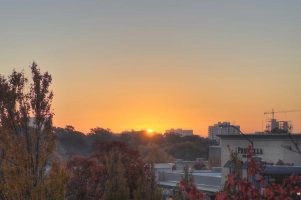 Raleigh Sunrise 20111107