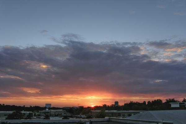 Raleigh Sunrise 20091122