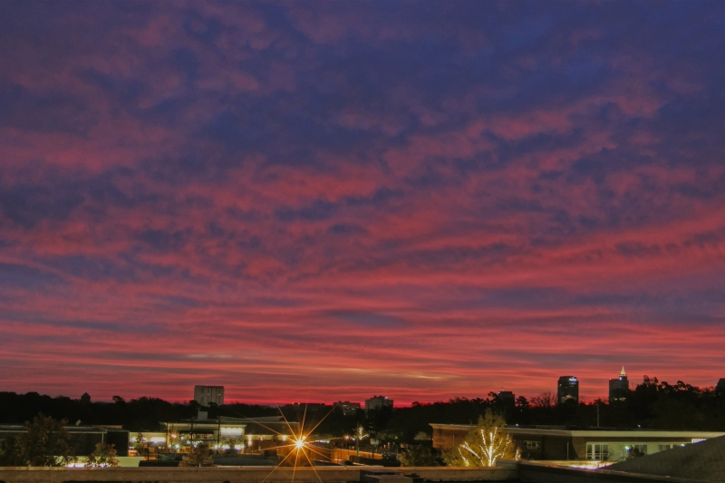 Raleigh Sunrise 20081128
