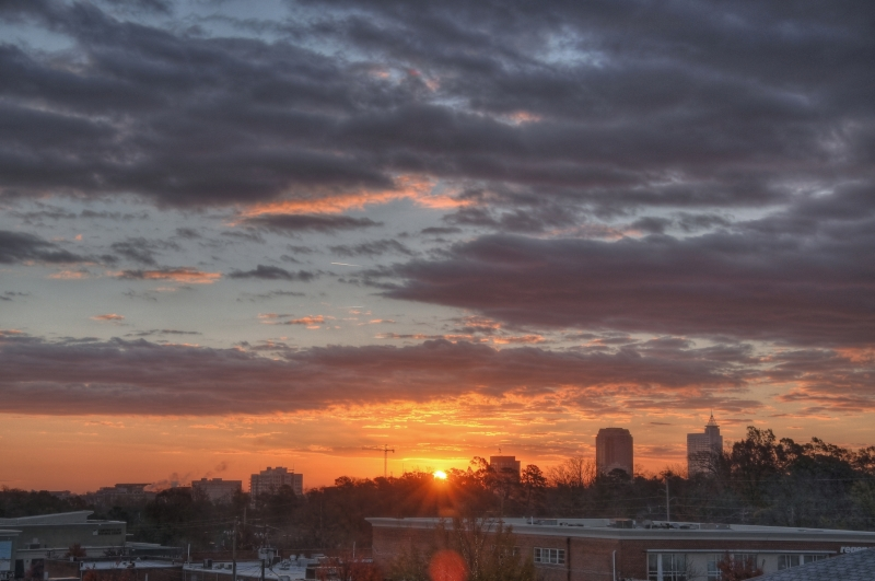 Raleigh Sunrise 20101129