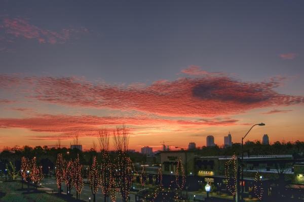 Raleigh Sunrise 20111204