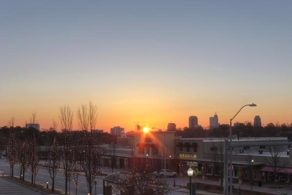Raleigh Sunrise 20111211
