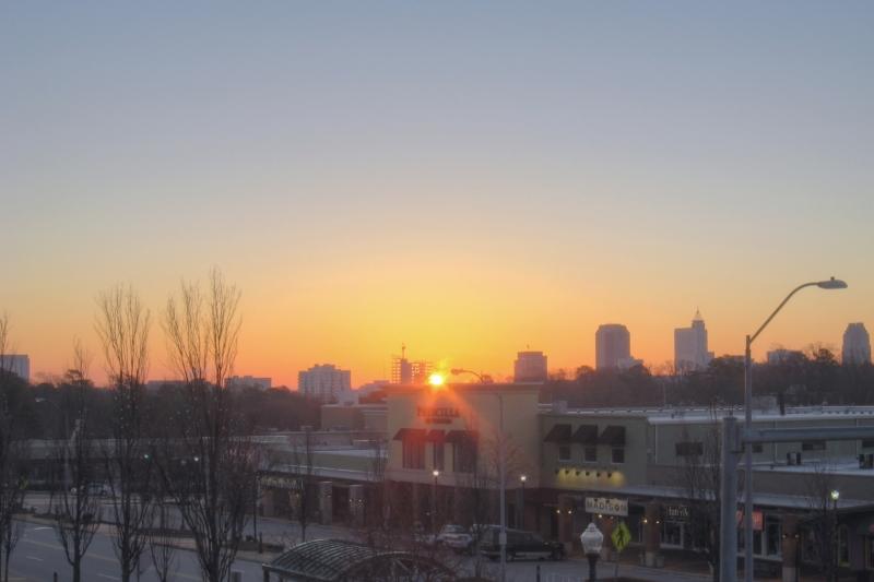 Raleigh Sunrise 20111213