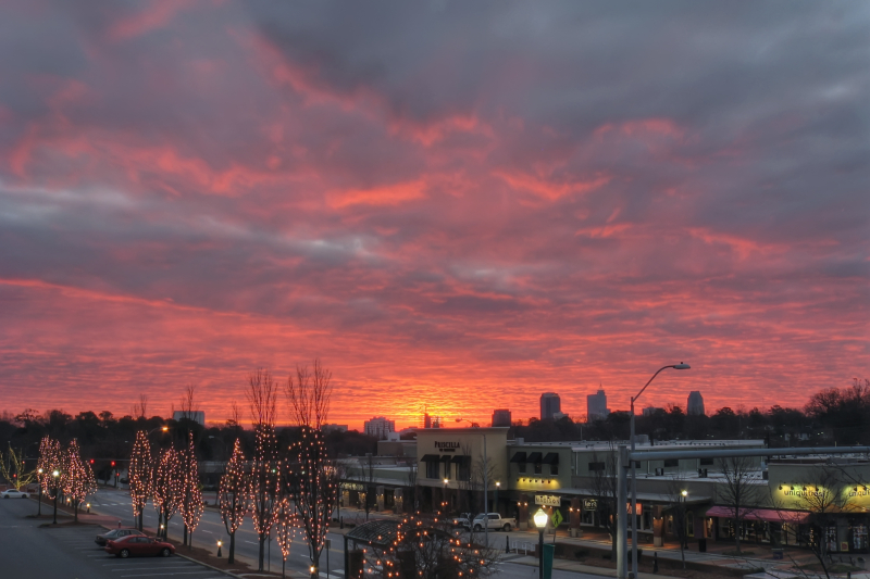 Raleigh Sunrise 20111214