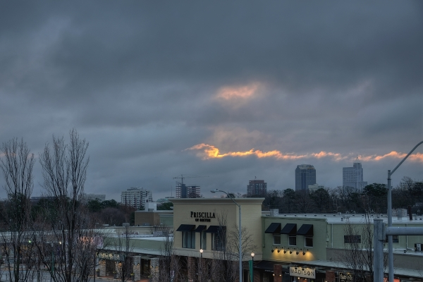Raleigh Sunrise 20111217