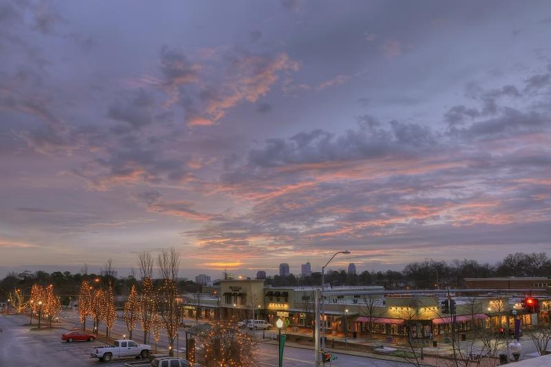 Raleigh Sunrise 20111221