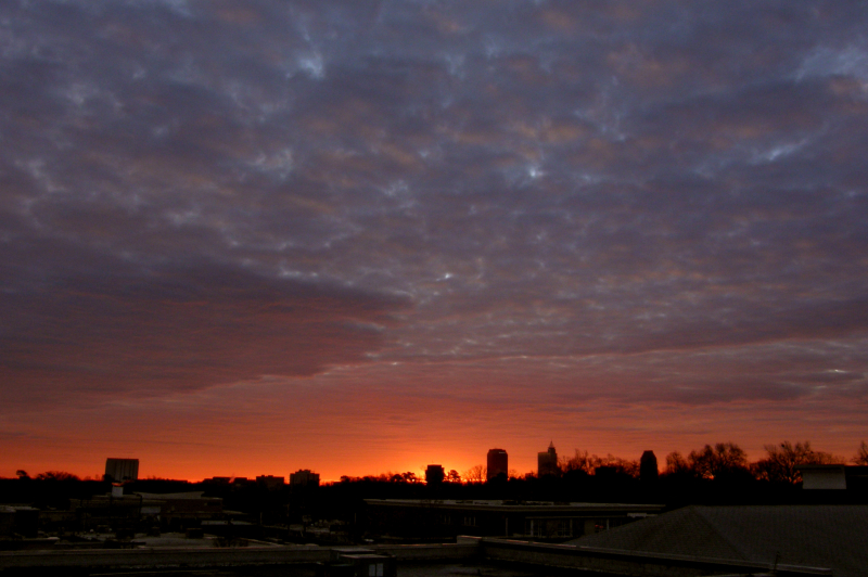 Raleigh Sunrise 20081223