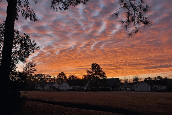 Morehead City Sunrise 20111225