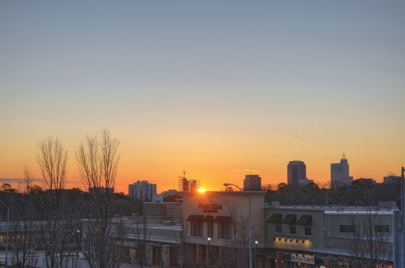 Raleigh Sunrise 20111228