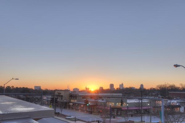 Raleigh Sunrise 20111229