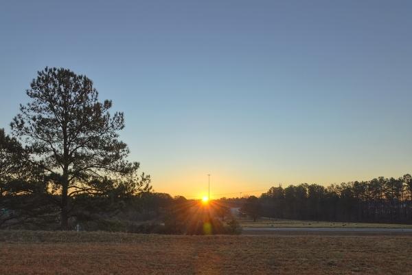 Cary Sunrise 20120101