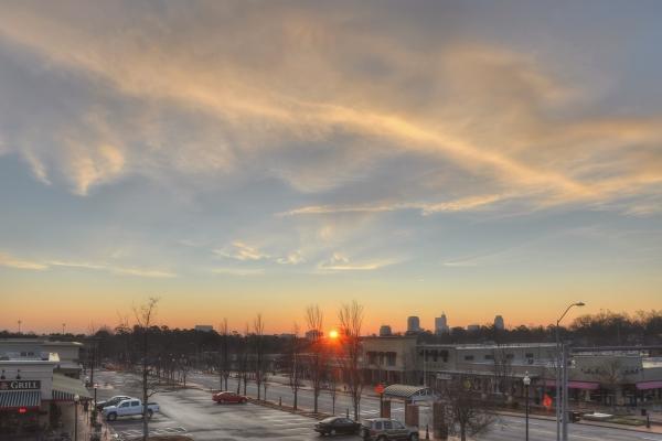 Raleigh Sunrise 20120112