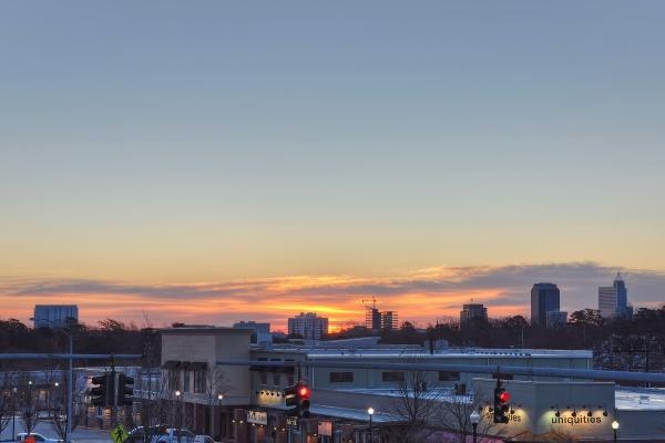Raleigh Sunrise 20120119