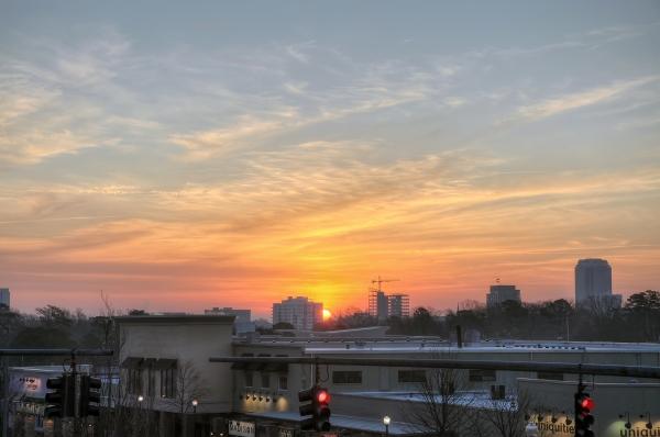 Raleigh Sunrise 20120120