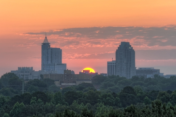 Raleigh Sunrise 20120531