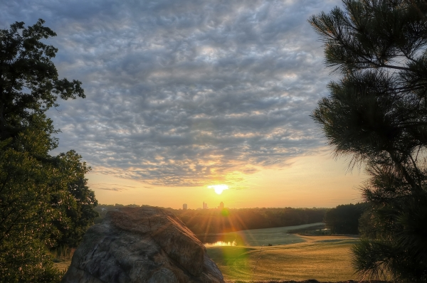 Raleigh Sunrise 20120602