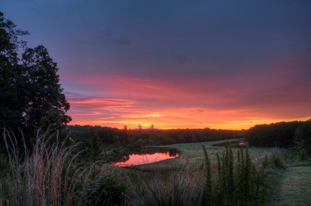 Raleigh Sunrise 20120606