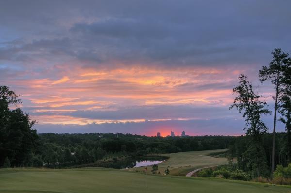 Raleigh Sunrise 20120611