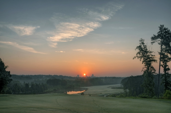Raleigh Sunrise 20120620