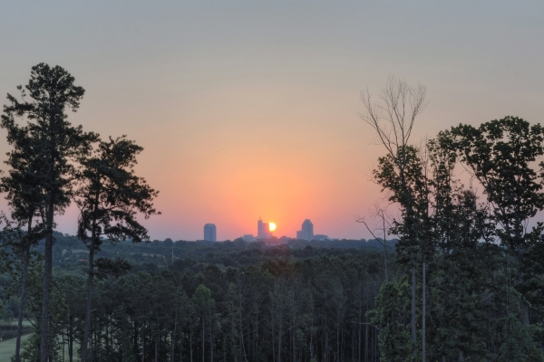 Raleigh Sunrise 20120629