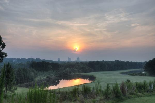 Raleigh Sunrise 20120706