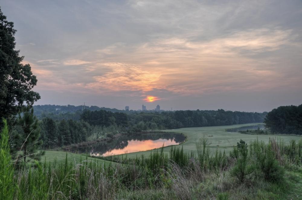Raleigh Sunrise 20120709
