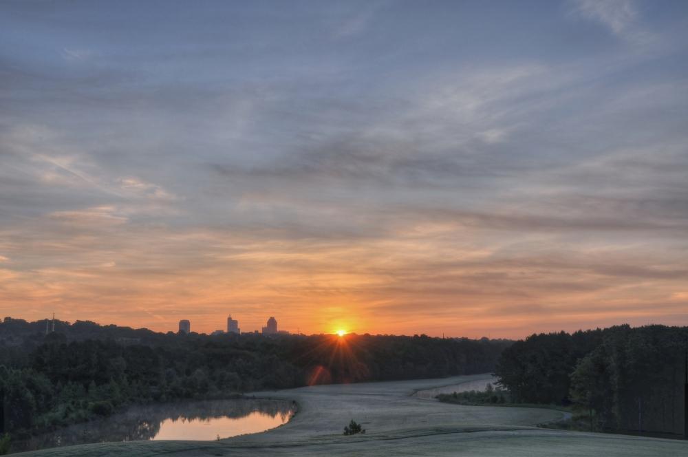 Raleigh Sunrise 20120809