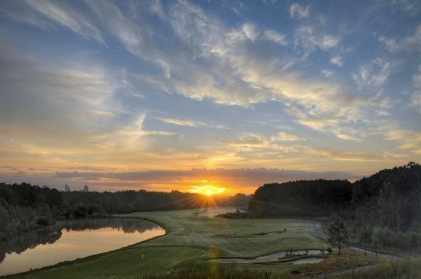 Raleigh Sunrise 20120914