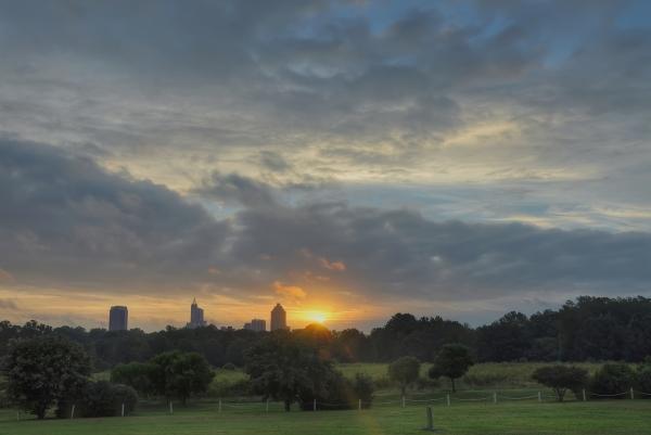 Raleigh Sunrise 20120918