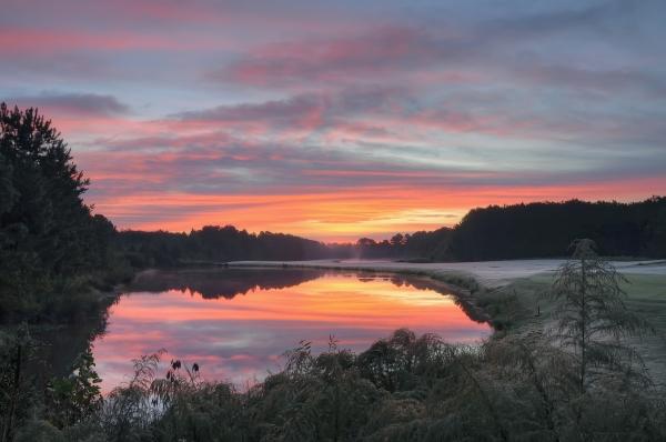 Raleigh Sunrise 20121005
