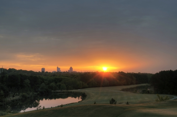 Raleigh Sunrise 20130427