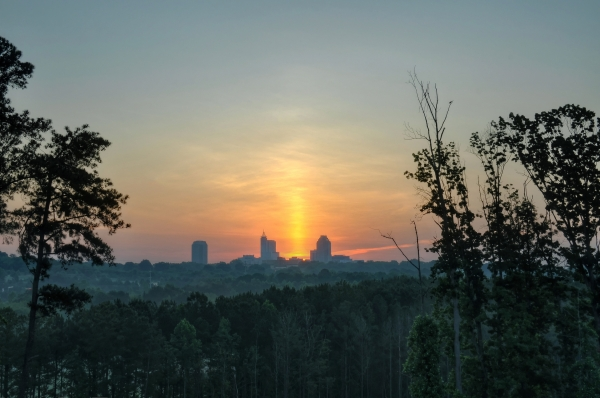 Raleigh Sunrise 20130529