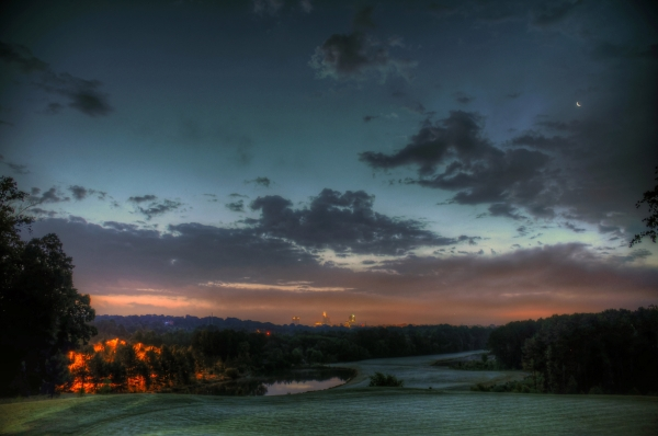 Raleigh Sunrise 20130604