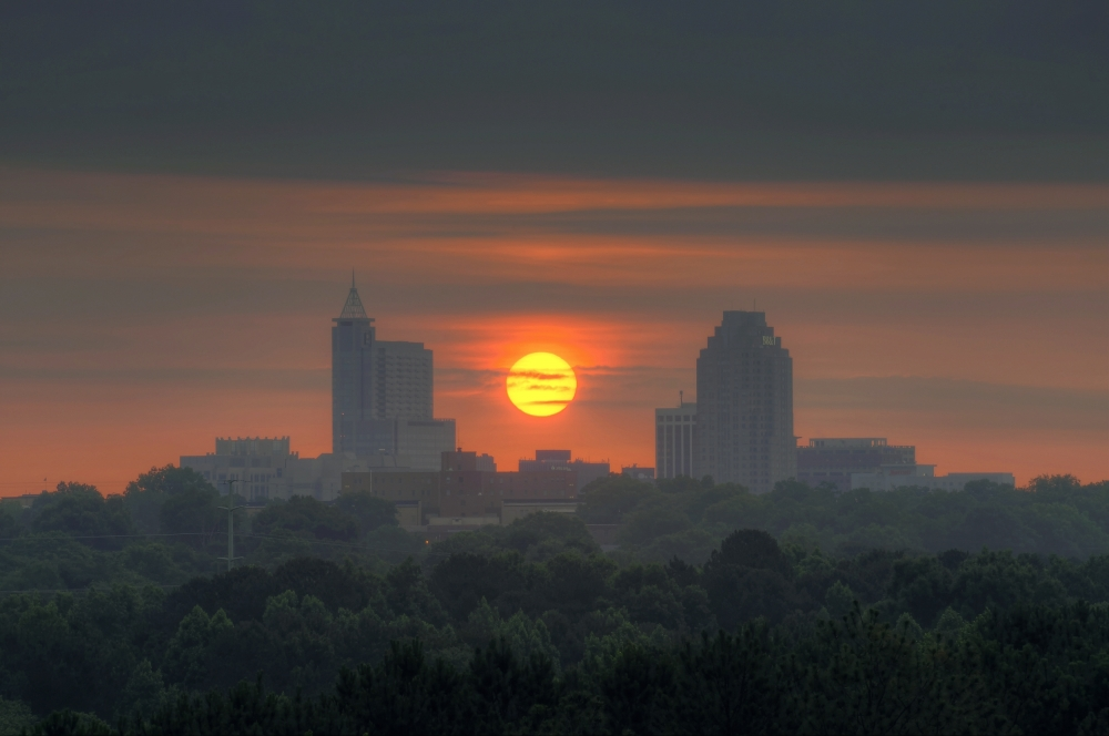 Raleigh Sunrise 20130605