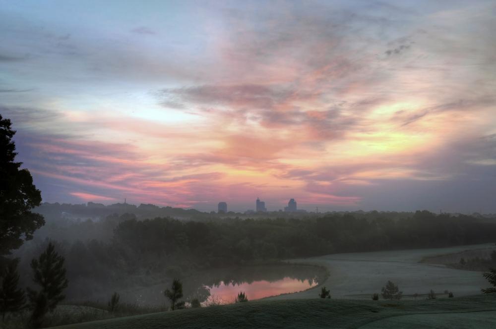 Raleigh Sunrise 20130609